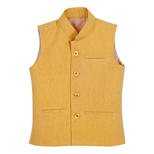 Dhrohar-Khadi-Cotton-Mustard-Modi-Jacket-for-Boys-2-Years-6-Years