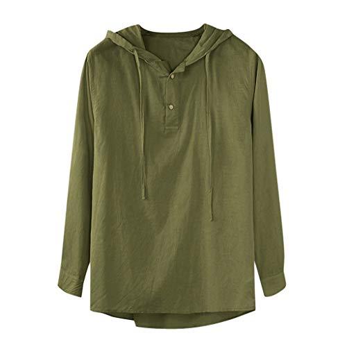 Frauit plus size oversize camicia uomo lino coreana con cappuccio camicie uomo maniche lunghe taglie forti camicie uomo manica lunga estive camicie particolari large spiaggia
