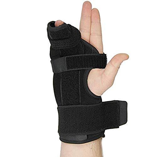 Metacarpal, stecca per boxer per mano destra e sinistra, facile da mettere e togliere, stecca stabilizzante per metacarpale e lesioni della mano, un U.S.Solid Prodotto (Medium)