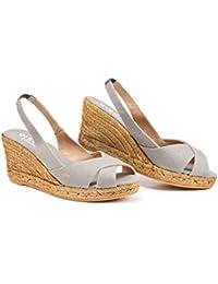 44b1804f98f Amazon.co.uk: Grey - Espadrilles / Women's Shoes: Shoes & Bags
