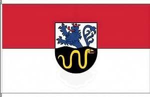Königsbanner Hissflagge Unkenbach - 120 x 200cm - Flagge und Fahne