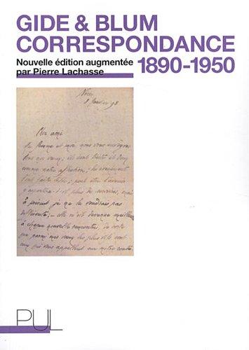Correspondance 1890-1950