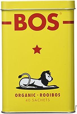 BOS Dry Thé Rooibos Tin 40 Sachets 100 g