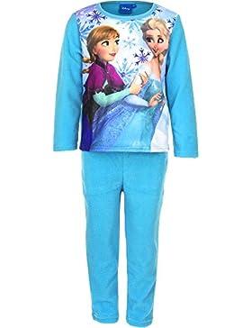 Disney Frozen Die Eiskönigin Fleece Schlafanzug, türkis, Gr. 104-128