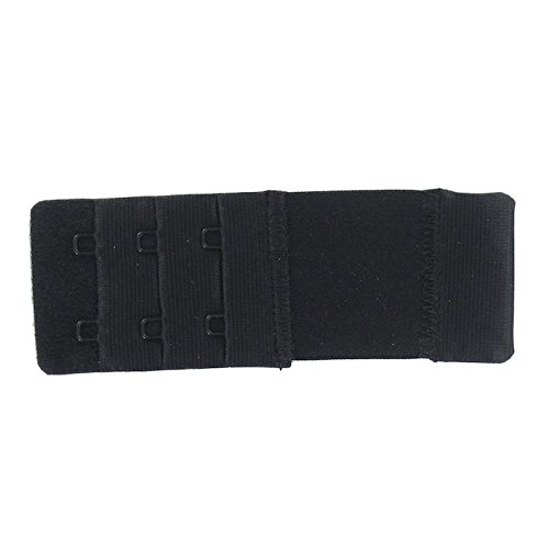 Prolunga elastico Dos di sostegno Gola 2ganci 3,5cm di larghezza Nero
