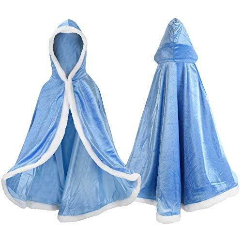 Labellevie Capa Disfraces Princesa Costume Niñas