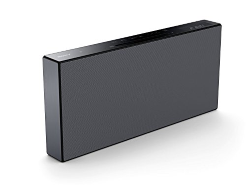 Sony cmtx5cd sistema hi-fi stereo con wireless bluetooth, all in one, suono cassa a 2 canali, radio fm, lettore cd, usb, clear audio+, conversione dsee, compatibile con iphone, android e pc, nero