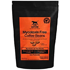 Lean Caffeine Bulletproof Coffee Beans 908g (935g with packaging)    Pesticide & Mycotoxin Free Upgraded Coffee Beans 908g (935g with packaging)