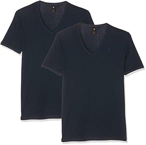 G-STAR RAW Herren T-Shirt Blau (Legion Blue 862)
