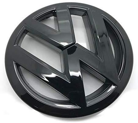 Schwarz glänzend 110mm Rückseite Boot Lid Tailgate Trunk Abzeichen Emblem Für Golf 7.5 MK7.5 2012-2019+