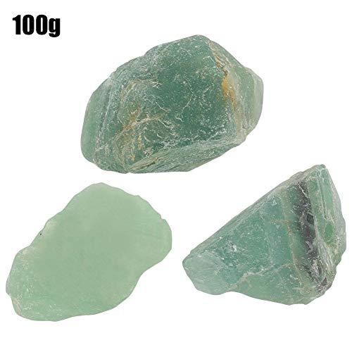 Aunmas 100g di pietra naturale di cristallo di quarzo fluorite assortiti pietre burattate ghiaia di cristallo per vaso di piante riempitivi di vassoi decorazioni per piscine.