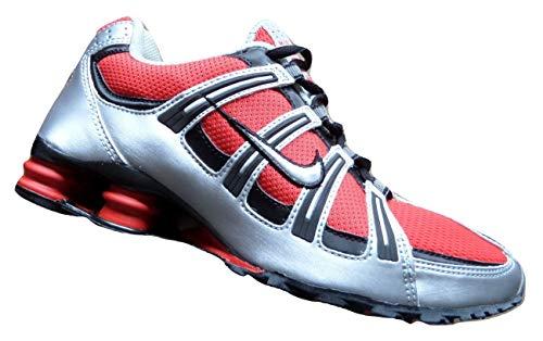 Nike Shox Turbo Herren Running Sneakers Schuhe Original 2004 OG Sport Red Metallic Silver Black Herren UK 7.5, EUR 42