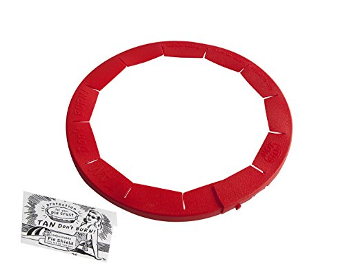 Talisman Diseños Ajustable Pastel Corteza Escudo - Rojo, Individual