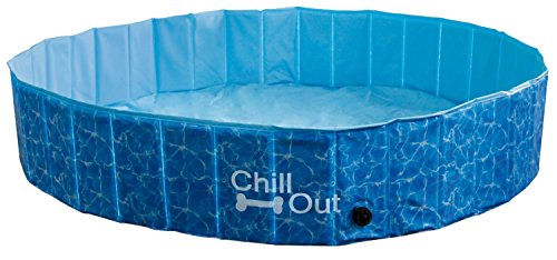 All for Paws Piscina Plegable Chill out, Talla L, 160 x 30 cm