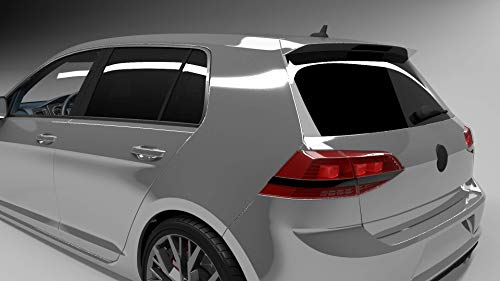 CAR-CHARISMA ORPRO Scheibenfolie schwarz, Tönungsfolie Limo Black, 1x152x76cm u.1x250x50cm, tiefschwarz, Limo Black