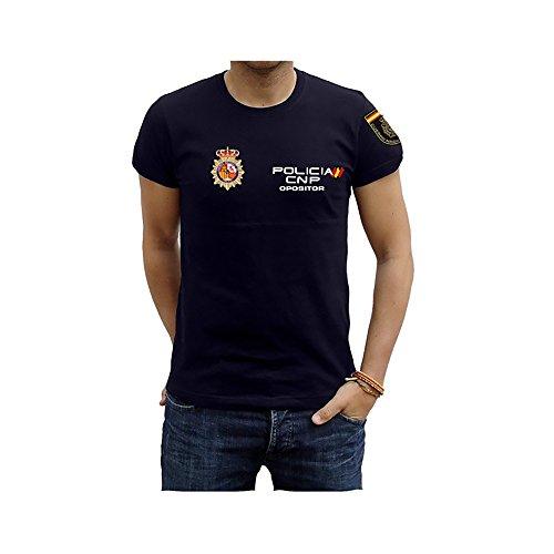 Piel Cabrera Camiseta Policia Nacional Opositor (L 45ec1618acb1c
