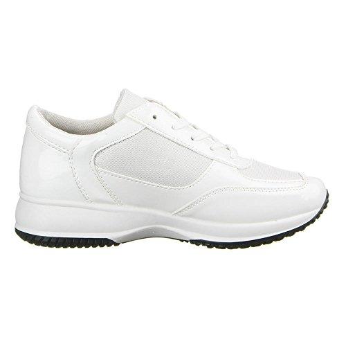 ... FREIZEITSCHUHE Weiß Damen Schuhe, 22-148, FREIZEITSCHUHE Weiß