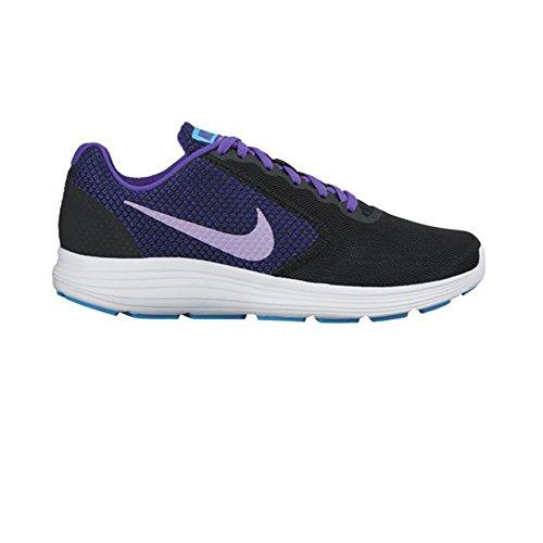 Nike 819303-010, Sneakers trail-running femme Noir