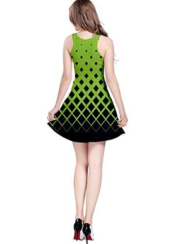 CowCow -  Vestito  - Donna fluo verde