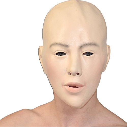 Rollenspiel Frauen Maske aus weichem Schaumlatex