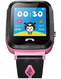 BJESSENCE 1PC Niños GPS Reloj Inteligente Kids gift Call / Ranura para Tarjeta SIM / Anti