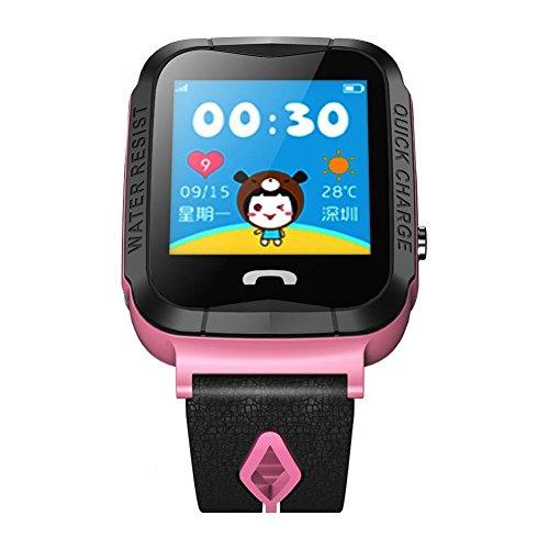 BJESSENCE 1PC Niños GPS Reloj Inteligente Kids gift Call / Ranura para...