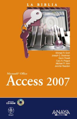 Access 2007 (La Biblia De)