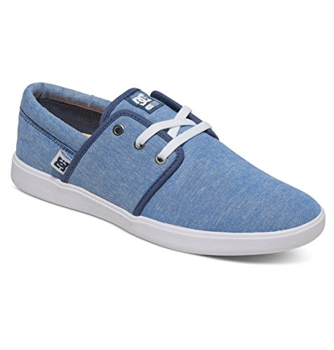 DC Shoes Haven Tx Se J Shoe, Baskets Basses femme Bleu - Navy/White