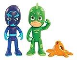 PJ Masks Light Up Figure 2PK-Gekko & Night Ninja
