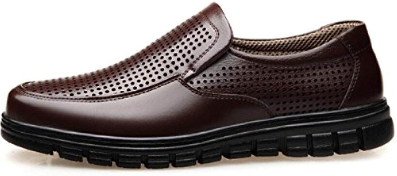 Los Zapatos De Los Hombres De Primavera Y Verano Zapatos Huecos Zapatos Ocasionales De Negocios Transpirables