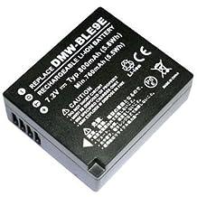 Power Smart® 800mAh Batería para Panasonic Lumix DMC-ZR1tz101, tz81, GX7, DMW-BLE9GK, DMW-BLE9PP, DMW de BLE9PP, DMW-BLG10y DMW-BLG10E