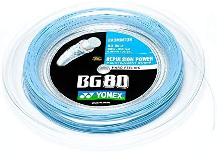 BG-80 Yonex 200 m Rolle Badminton Schläger Saite SkyBlue Himmel blau Wow - All-In-One-Outlet-24 -