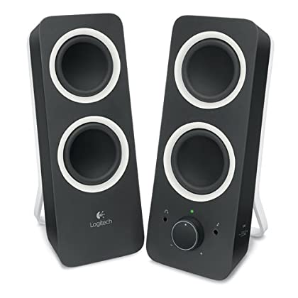 Logitech Z200 - Altavoces 2.0 para PC, color negro