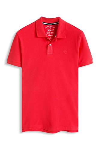 ESPRIT Herren Poloshirt 056ee2k044 Rot (CORAL RED 640)