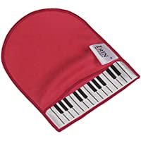 Muslady IRIN Guante Limpio de Teclas del Piano, Paño de Limpieza de Instrumentos Musicales, Microfibra suave con Teclado de Piano,Diseño de Patrones