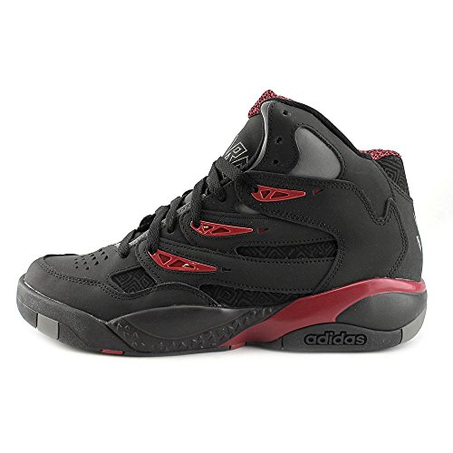 Mutombo Uomo Adidas 2 Sneakers Athletic - 2014 Limited Edition Court Black/Court Black/Court Burgundy