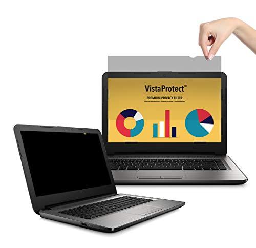 VistaProtect - Premium Blickschutzfilter, Privacy Filter, Blickschutzfolie für Laptops & Notebooks (14″ Zoll) (Hp-laptop-bildschirme)