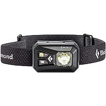 Black Diamond ReVolt Headlamp/Wiederaufladbare Stirnlampe mit Rotlicht, Blinklicht und dimmbarer LED/Wasserdicht nach IPX8, max. 300 Lumen