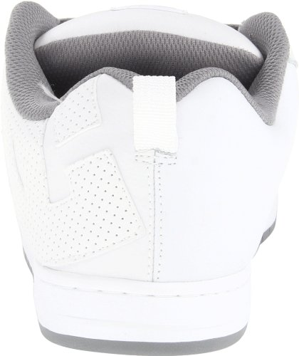 DC Shoes Court Graffik, Chaussures de skate homme Blanc (White/Armor/White)