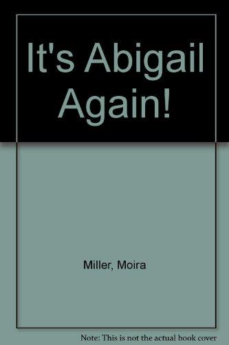 It's Abigail again!.