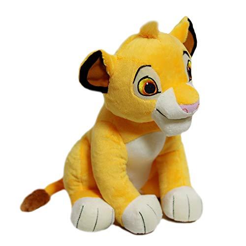 xuritaotao Nette Gute Qualität 1 Stücke Sitzen Hohe 26 cm Simba Der König Der Löwen Plüschtiere Simba Weiche Kuscheltiere Puppe Für Kinder Geschenke (König Der Löwen Puppe)