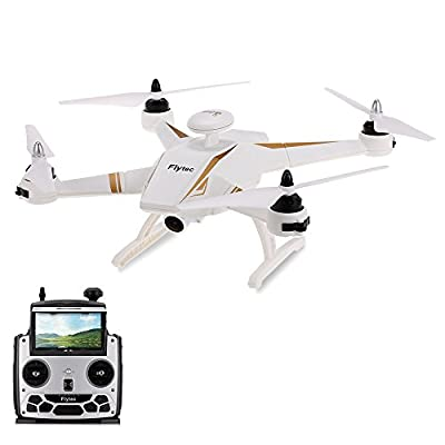 GEHOO GH Flytec Navi T23 Brushless Double GPS 1080P HD Camera Drone FPV Follow Me Fixed Point Circling Height Holding Quadcopter by CS PRIORITY