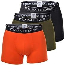 Polo Ralph Lauren Homme Boxers Tronc Paquet de 3 - Coton, Multicolores bee87855fc8