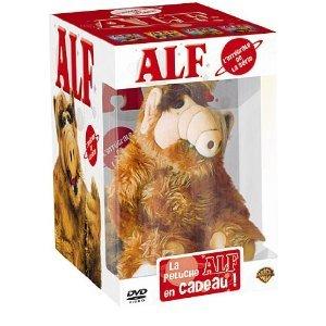 ALF - Staffel 1+2+3+4 - Komplette Serie + Plüschtier - 16 DVD's Box Import mit deutschem Originalton