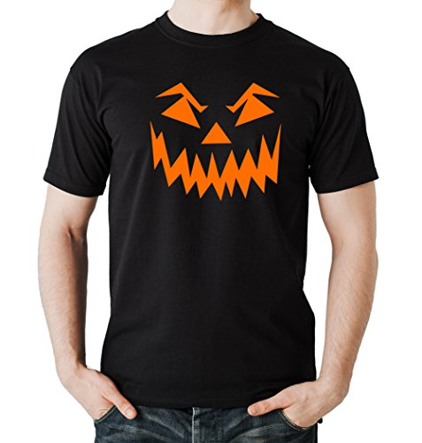 oween Face T-Shirt Black M (Halloween Bräuche Für Kinder)
