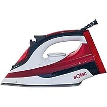 Solac PV2014 Optima Perfect - Plancha de vapor para ropa de 2.600 W de potencia,