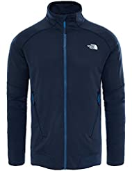 The North Face M Kantan Full Zip Forro Polar, Hombre, Azul (Urban Navy), M