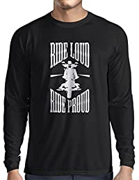 N4695L Camiseta de manga larga Ride Loud!