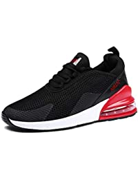 low priced b4ec5 c489d GJRRX Homme Femme Air Baskets Chaussures Gym Fitness Sport Sneakers Style  Running Multicolore Respirante Multisports Outdoor