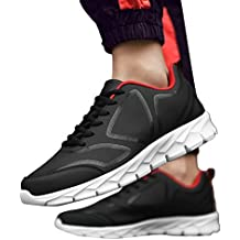 JiaMeng Zapatillas de Correr Hombre Color de Hechizo Casual Cómodas Calzado Deportivo de Invierno Calzado Casual